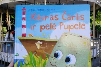Kibiras Čarlis ir pelė Pupelė